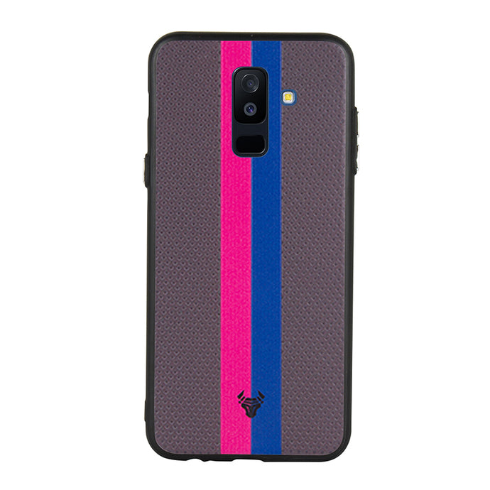 Duo Striped Case For Galaxy A6 Plus