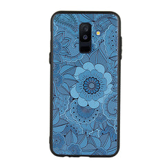Engraved Mandala Case For Galaxy A6 Plus
