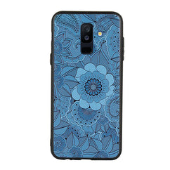 Engraved Mandala Case For Galaxy J8