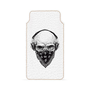 Facemask Skull Smartphone Pouch For Vivo Y53