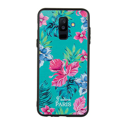 Floral Fantasy Case For Galaxy A6 Plus