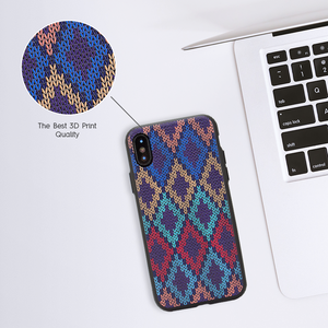 Checkered Navy Case For Galaxy C9 Pro