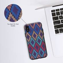 Checkered Navy Case For iPhone 6s