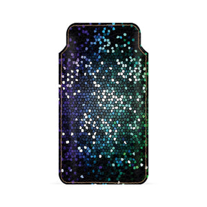 Glittery Abstract Smartphone Pouch For Vivo V5