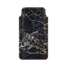 Gold Streak Marble Smartphone Pouch For Google Pixel 2 XL