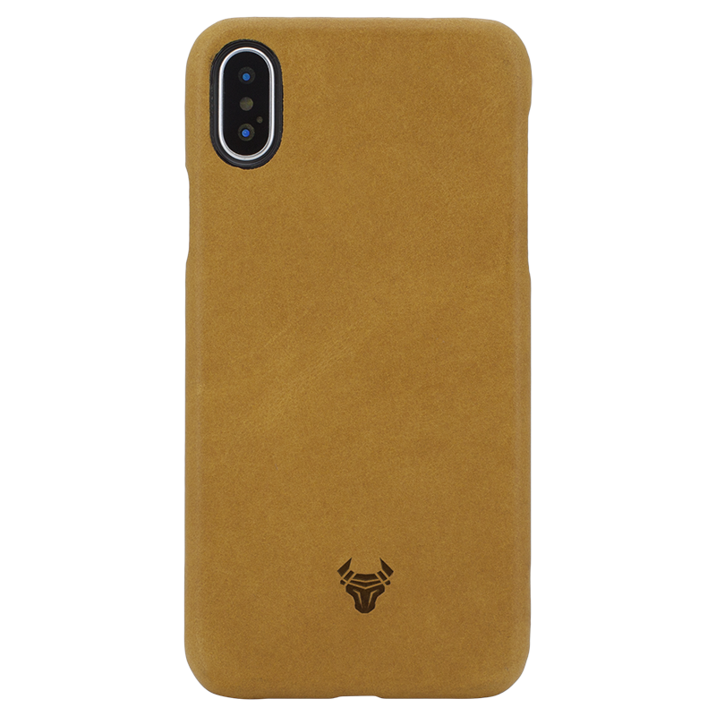 Honey Premium Leather Case For iPhone Xs