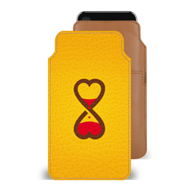 Imverted Hearts Smartphone Pouch For Google Pixel 2 XL