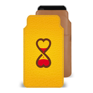 Imverted Hearts Smartphone Pouch For Vivo V5s