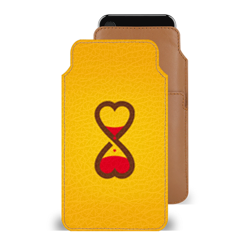 Imverted Hearts Smartphone Pouch For iPhone 6