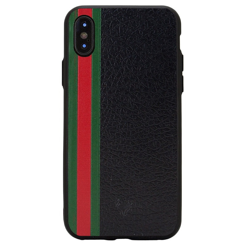 Leather Rg Band Case For iPhone X