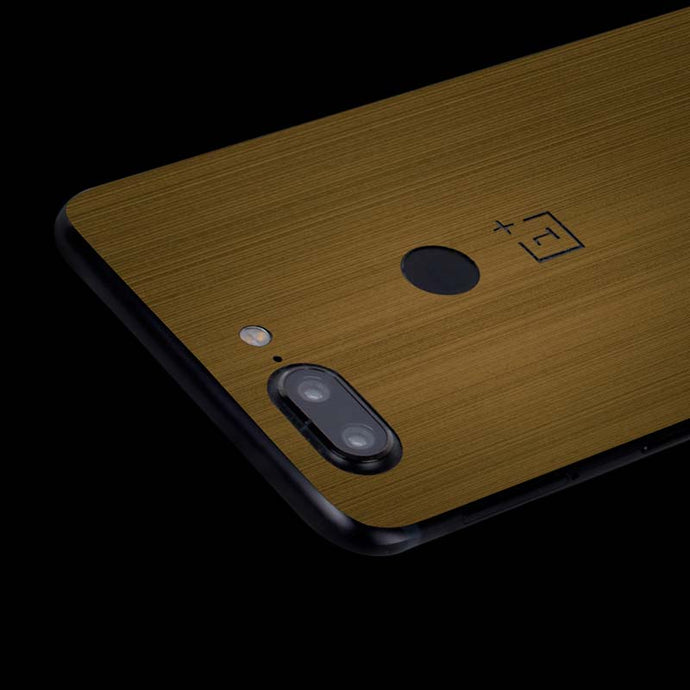 Metal Gold-Flaunnt For OnePlus 5T