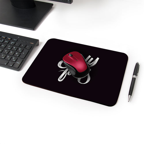 Only Fools Designer Leather Mouse Pad