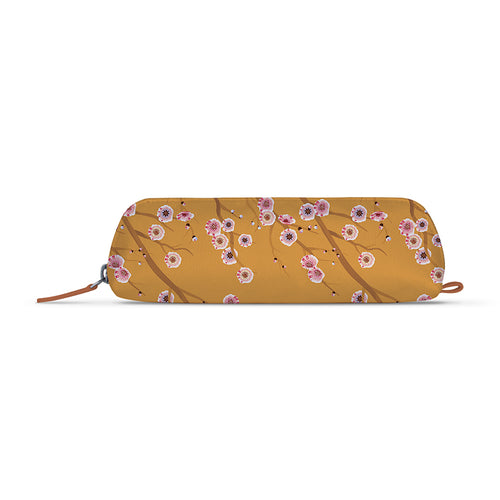 Origamic Flowers Tan Essential Pouch