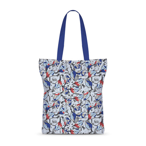 Painted Leaves Basic Tote Bag