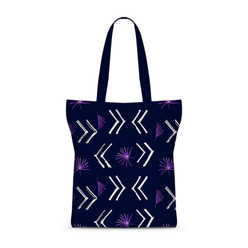 Painted Pattern Basic Tote Bag