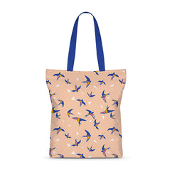 Pastel Sky Fly Basic Tote Bag