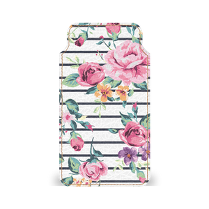 Pink Bloom Streak Smartphone Pouch For Vivo V5s