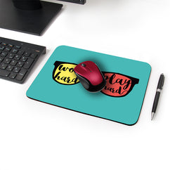 Play Hard Designer Leather Mouse Pad