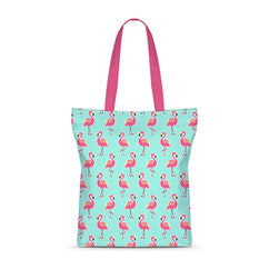 Popping Swans Basic Tote Bag