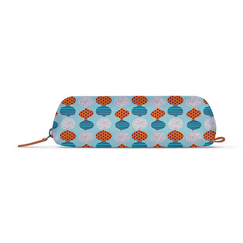 Poppy Pie Art Tan Essential Pouch