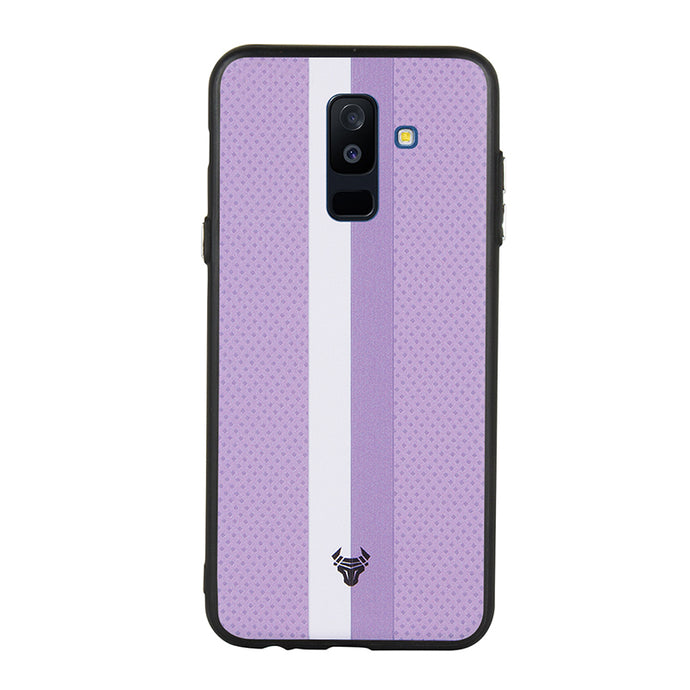 Purple Duo Lines Case For Galaxy A6 Plus