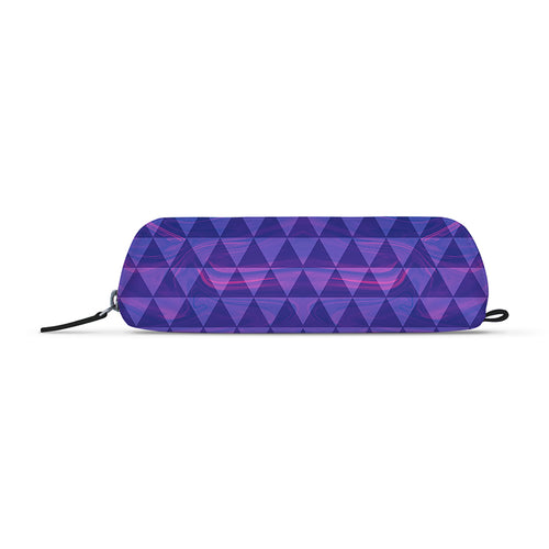Purple Tri Marble Jade Black Essential Pouch