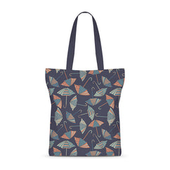 Raining Umbrella Basic Tote Bag