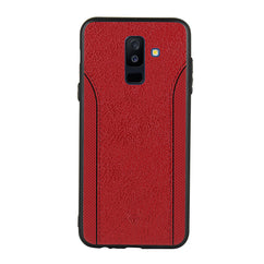 Red Case For Galaxy A6 Plus