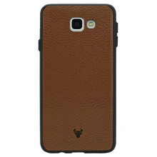 Brown Leather Case For Galaxy J5 Prime