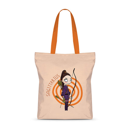 Savage Sagittarius Basic Tote Bag