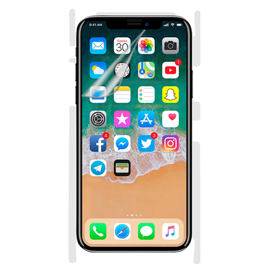 Screen Clear Back Clear For iPhone X.png