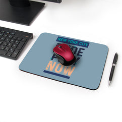 Serious Play Designer Leather Mouse Pad