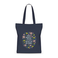 She Is A Hero Basic Tote Bag