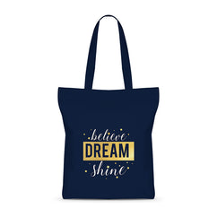 Shiny Dreams Basic Tote Bag