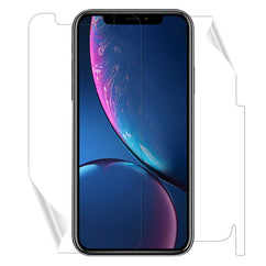 Screen Clear & Back Matte Skini For iPhone XR