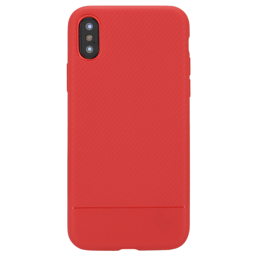 Carbon Soft Case For iPhone X