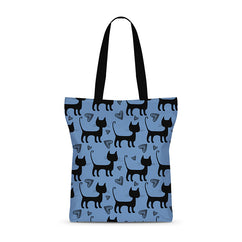 Sneaky Kitty Basic Tote Bag