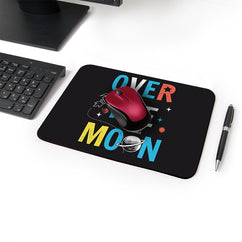 Space Explorer Designer Leather Mouse Pad