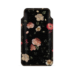 Space Flowers Smartphone Pouch For Google Pixel 2 XL