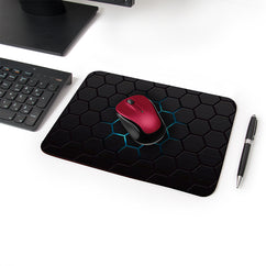 Spreading Glow Designer Leather Mouse Pad