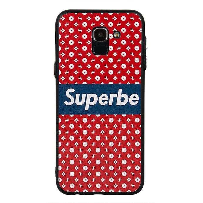 Superbe Star Red & Blue Case For Galaxy J6