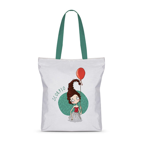 Sweet Scorpio Basic Tote Bag