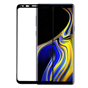 Black 3D Edge To Edge Toughn Tempered Glass For Galaxy Note 9