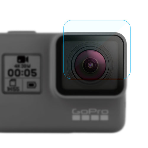 Pack of Lens & Display Monitor Screen Protector for GoPro Hero 5
