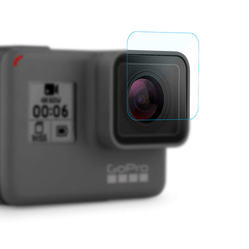 Pack of Lens & Display Monitor Screen Protector for GoPro Hero 6