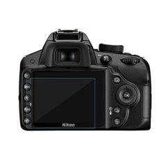 Camera Display Monitor Tempered Glass For Nikon D3100