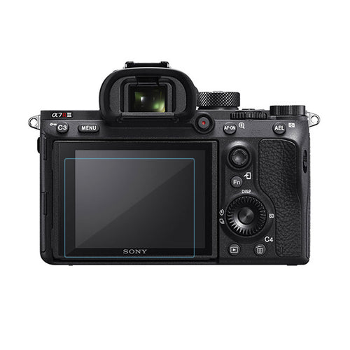 Camera Display Monitor Tempered Glass For Sony  Alpha 7RM3