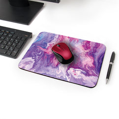 The Fall Designer Leather Mouse Pad