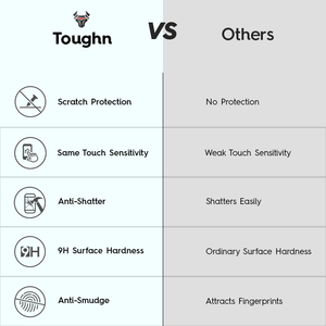 Clear Toughn Tempered Glass For Galaxy A7