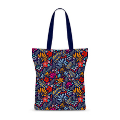 Tribal Frond Basic Tote Bag